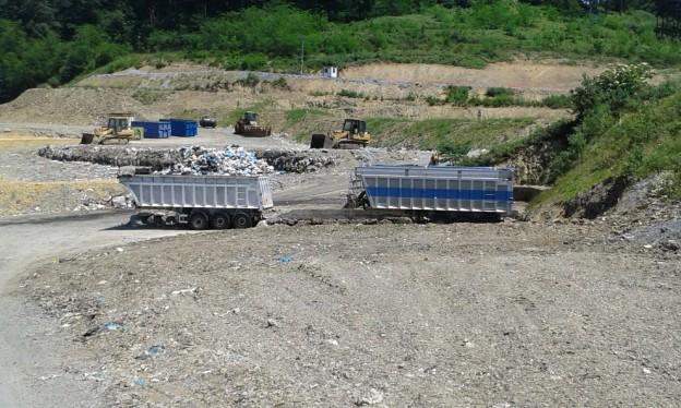 Bañeras estancas para el trasporte de Bioresiduo.
